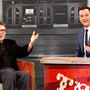 Rick Perry Booed by Home State on Kimmel