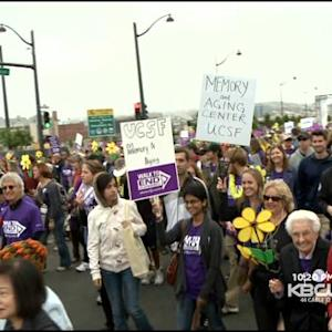 1000s Turn Out For SF's Walk To End Alzheimer's