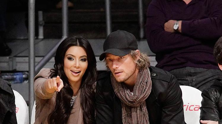 Kardashian Aubry Lakers Game