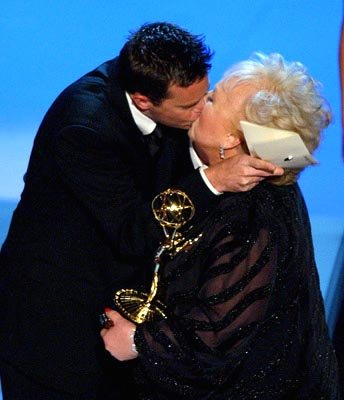 Matthew Perry and Doris Roberts 55th Annual Emmy Awards - 9/21/2003