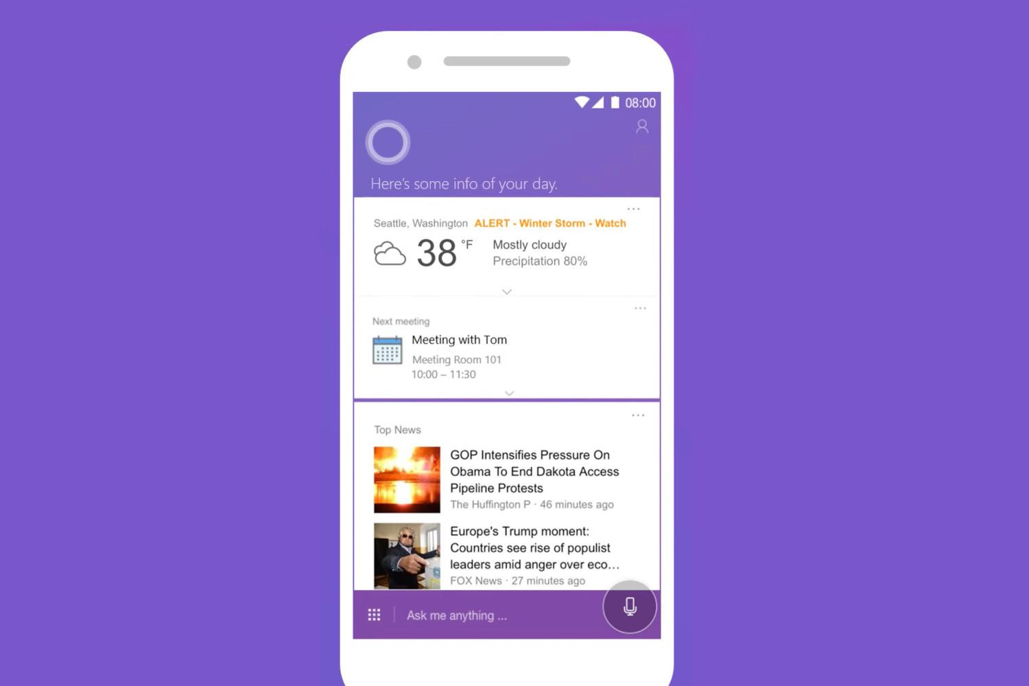 Cortana app for Android and iOS is getting a pretty major refresh