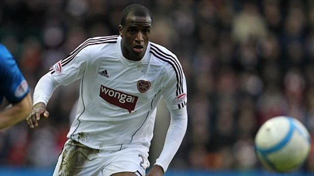 Michael Ngoo is confident Hearts can beat St Mirren at Tynecastle