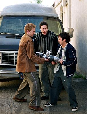 Tom Lenk, Adam Busch and Danny Strong of Buffy The Vampire Slayer