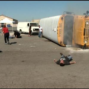 School Bus Drivers Train For Emergency Situations