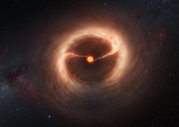 Never-Before-Seen Stage of Planet Birth Revealed