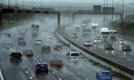 Weather: Flood Warnings As Rain Lashes UK