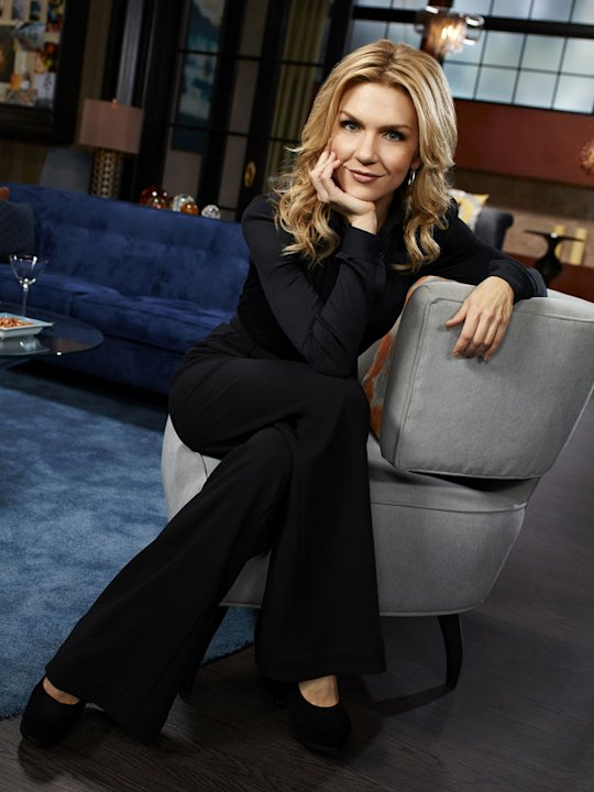 "Rhea Seehorn stars as Roxanne in ""Whitney."""