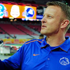 Boise State's Bryan Harsin Answers Trivia Until He's Blue In The Face