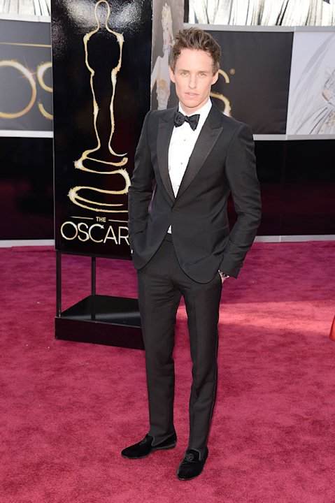 85th Annual Academy Awards - People Magazine Arrivals: Eddie Redmayne