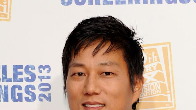 Sung Kang arrives at Twentieth Century Fox Television Distribution's 2013 LA Screenings Lot Party on Thursday, May 23, 2013 in Los Angeles, California. (Photo by Frank Micelotts/Invision for Twentieth Century Fox Television/AP Images)