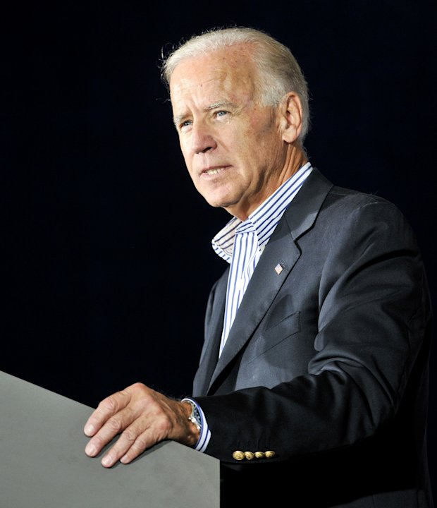 Vice President Joe Biden speaks during a campaign stop at the United Auto Workers Local 1714 Union Hall, Friday, Aug. 31, 2012, in Lordstown, Ohio. (AP Photo/Mark Stahl)