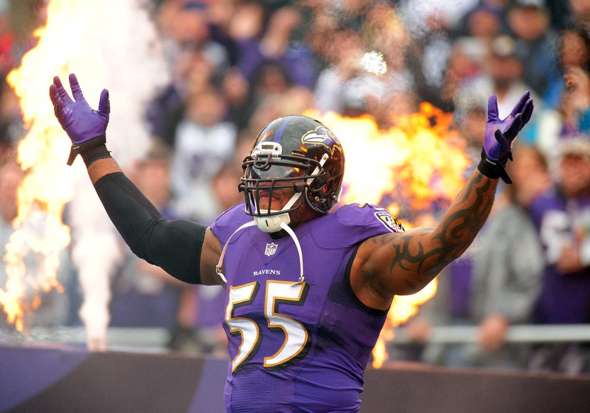Even after hit on Bradford, Suggs won't shy away from villain role