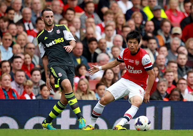 Soccer - Barclays Premier League - Arsenal v Stoke City - Emirates Stadium