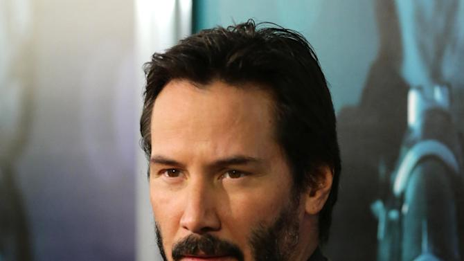 """Keanu Reeves seen at Summit Entertainment's """"John Wick"""" Los Angeles Special Screening held at The Arclight Hollywood on Wednesday, Oct. 22, 2014, in Hollywood. (Photo by Eric Charbonneau/Invision for Lionsgate/AP Images)"""