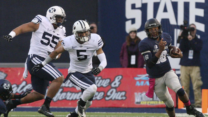 Utah State QB Keeton out for rest of season
