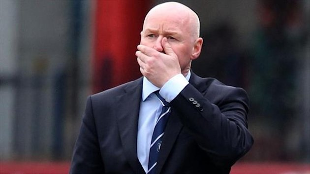 Dundee manager John Brown has been warned to be careful what he says in future