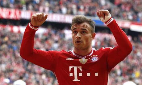 Bayern Munich's Shaqiri out of Arsenal clash