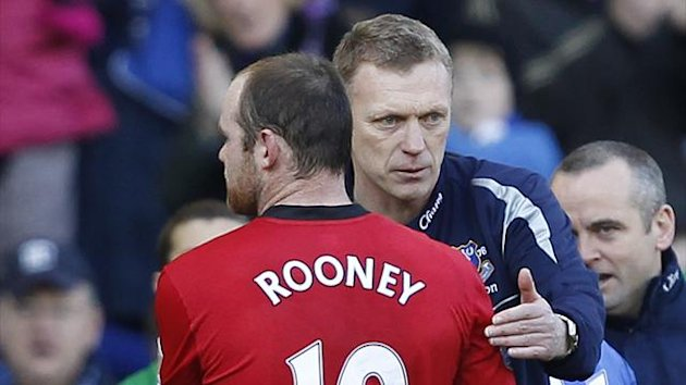 Wayne Rooney and David Moyes (Reuters)