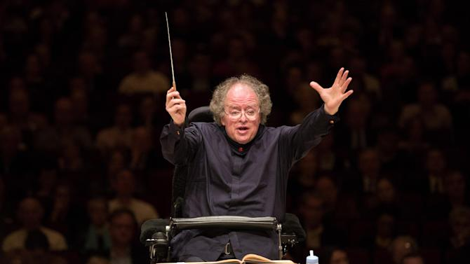 Metropolitan Opera Music Director James Levine leads the MET Orchestra in a concert at Carnegie Hall in New York on Sunday, May 19, 2013. The Sunday, May 19 concert by the MET Orchestra at Carnegie Hall will mark Maestro Levine's first public performance in more than two years after being sideline by a spinal injury. The concert will be broadcast live on SIRIUS XM Channel 74 and streamed on the Met's Web site (metopera.org) beginning at 2:55 p.m. (AP Photo/Metropolitan Opera, Marty Sohl)