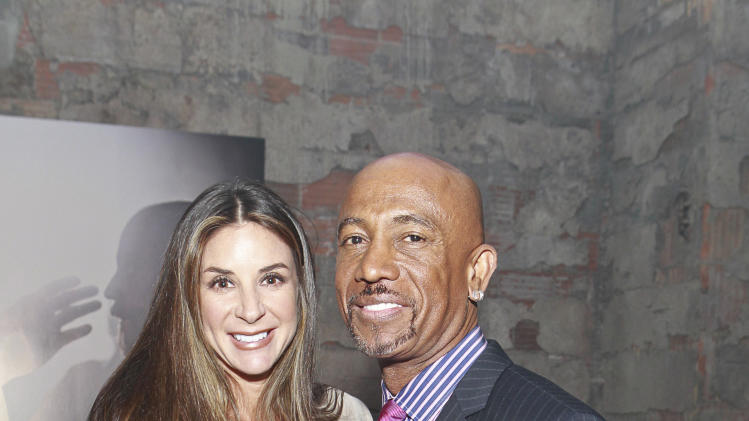 Montel Williams and wife Tara Fowler attend the celebration of the April 2 Blu-ray, DVD, and Digital HD release of THE BIBLE from Twentieth Century Fox Home Entertainment  during The Bible Experience opening night gala, a rare exhibit of biblical artifacts on Tuesday, March 19 in New York. (Photo by Mark Von Holden/Invision for Fox Home Entertainment/AP Images)