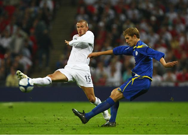 England v Kazakhstan - FIFA2010 World Cup Qualifier