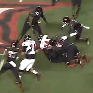 Arkansas State running back Michael Gordon not down, runs for 70-yard touchdown