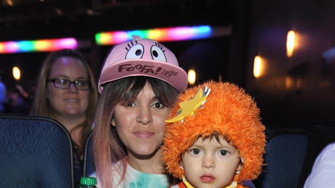 Fans attend Yo Gabba Gabba! Live!: Get The Sillies Out! 50+ city tour kick-off performance on Thanksgiving weekend at Nokia Theatre L.A. Live on Friday Nov. 23, 2012 in Los Angeles. (Photo by John Shearer/Invision for GabbaCaDabra, LLC./AP Images)