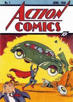 Action Comics No. 1, featuring Superman (Wikipedia/Joe Shuster)