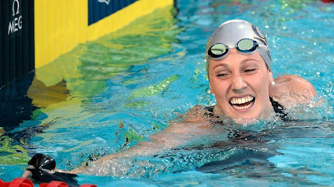 Swimming - Franklin hit by back spasms ahead of Pan Pacs