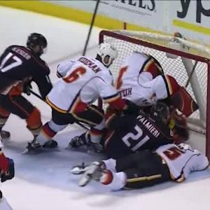 Flames at Ducks / Game Highlights