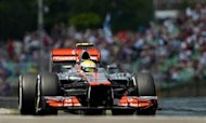Hamilton Plays Down Mercedes Link