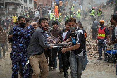 At least 4,400 dead after devastating 7.8-magnitude earthquake strikes Nepal
