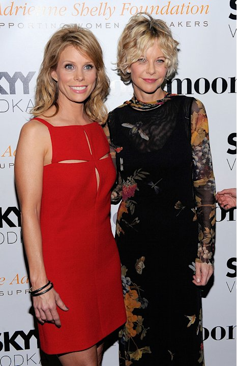 Serious Moonlight NY premiere 2009 Cheryl Hines Meg Ryan