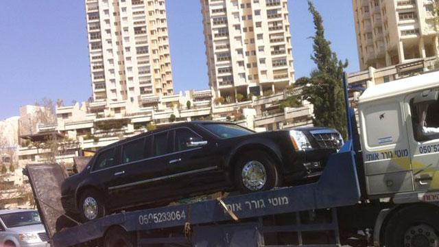 Obama's Limo Breaks Down