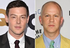 Cory Monteith, Ryan Murphy | Photo Credits: Alberto E. Rodriguez/Getty Images; Jason LaVeris/FilmMagic