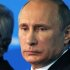 Russian President Vladimir Putin attends a meeting of the Valdai International Discussion Club in the Black Sea resort of Sochi, Russia, Friday, Oct. 24, 2014. The United States is destabilizing the global world order by trying to enforce its will, Russian President Vladimir Putin declared Friday, warning that the world will face new wars if Washington fails to respect the interests of other countries. (AP Photo/RIA-Novosti, Mikhail Klimentyev, Presidential Press Service)