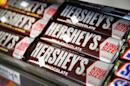 Hershey reported $7.4 billion in sales in 2015, while Mondelez had $29.6 billion in sales