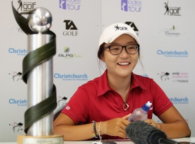 15-year-old Lydia Ko won the New Zealand Women's Open, her third professional title in 13 months &#x002014; Getty