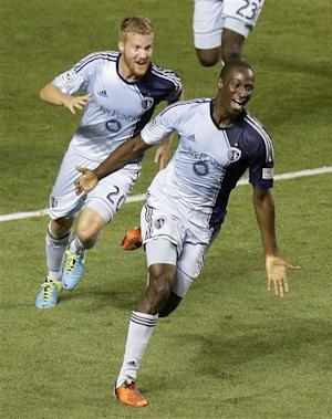 Opara's goal lifts Sporting KC over Real Salt Lake