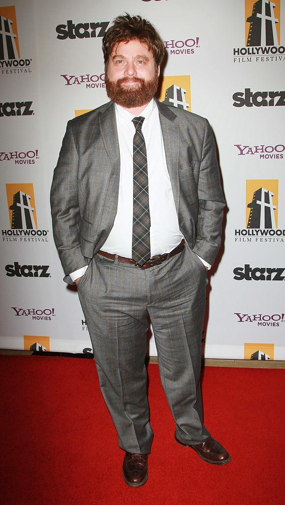 2010 Hollywood Awards Zach Galifianakis