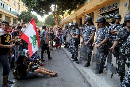 Beirut protesters occupy ministry, demand minister resigns