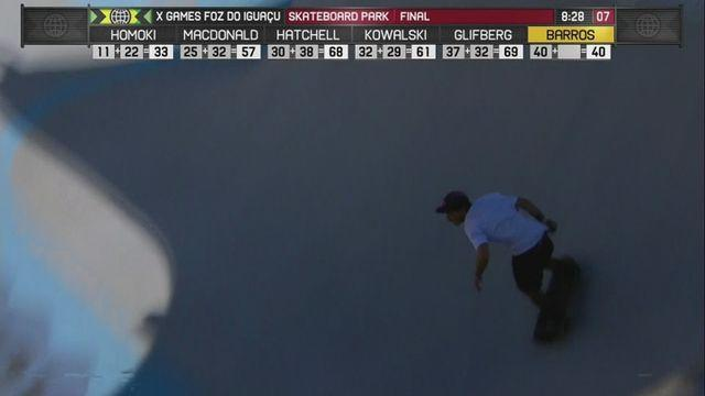 Brazilian wins Gold in X-Games