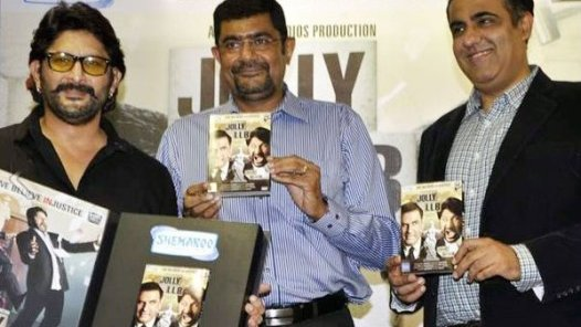 Jolly LLB launches DVD
