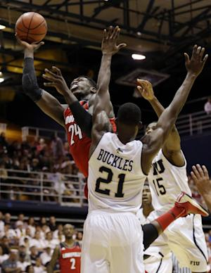 No. 6 Louisville rolls past FIU 85-56