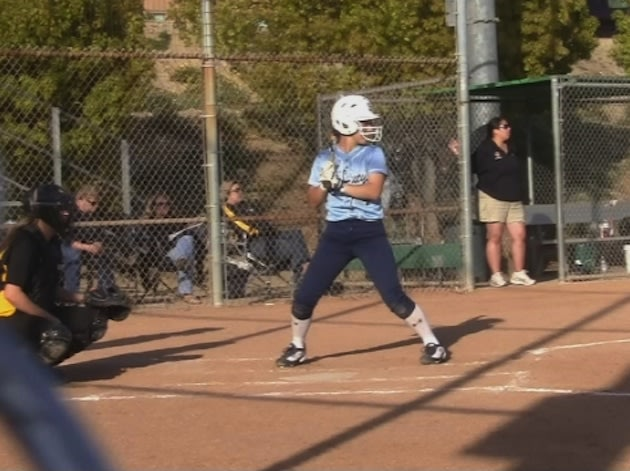 One of the St. Lucy's softball seniors, Danielle Mavridis — BeRecruited