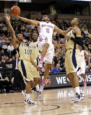 Carter lifts Georgia Tech past Wake Forest 57-56