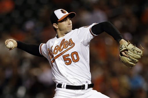 Orioles beat Rays 3-2 to remain in 1st place