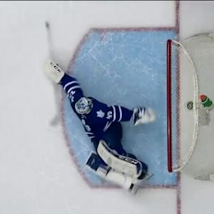 Jonathan Bernier falls flat for heroic save