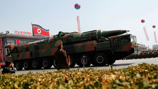 North Korea Moves Missile, Could Be Preparing a Test (ABC News)