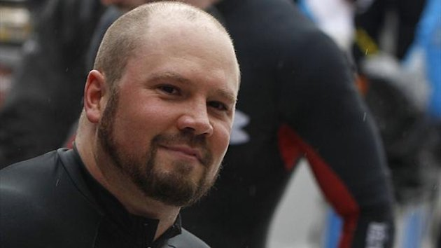 Steven Holcomb of the US (Reuters)